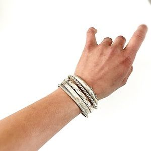Jewelry - Vintage | Sterling Silver Bracelet Bundle
